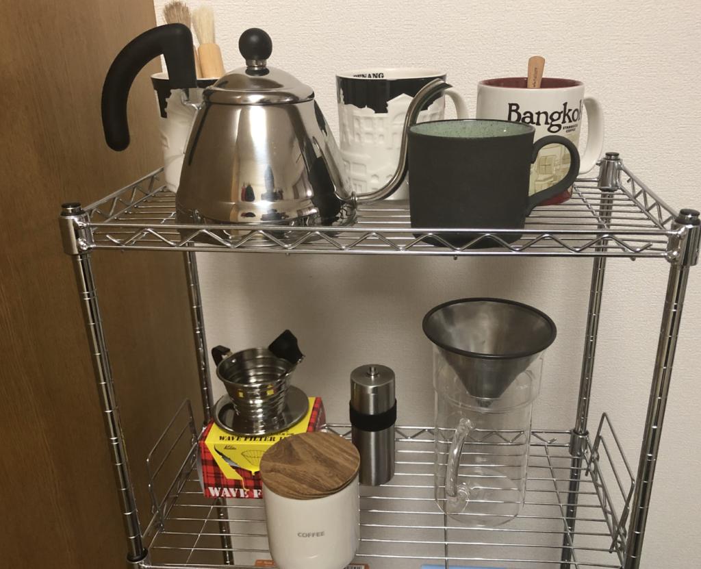 私のコーヒグッツ