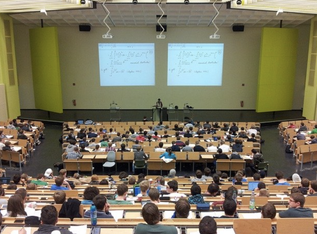 講義の写真