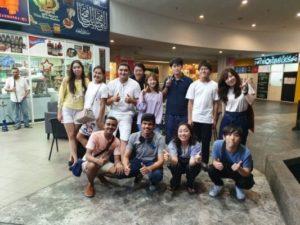 マレーシア留学時の写真