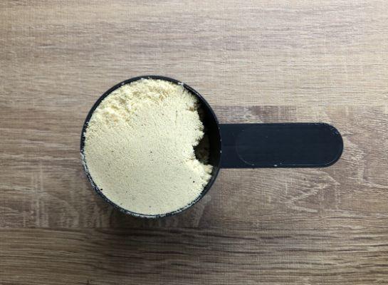 マイプロテイン「ゴールデン」味